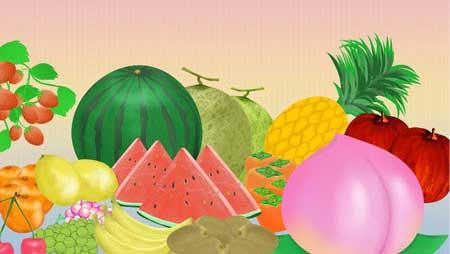 果物イラスト - かわいいフルーツの無料素材まとめ