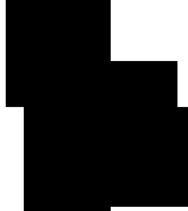 孔雀の線画