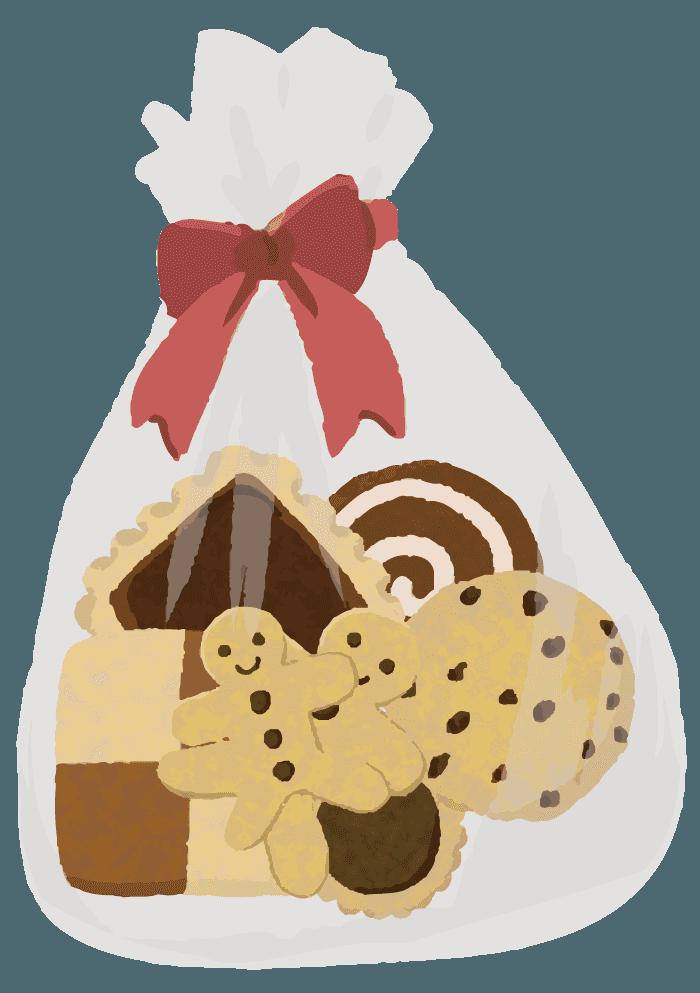 クッキーイラスト 美味しそうで可愛いお菓子の無料素材 チコデザ