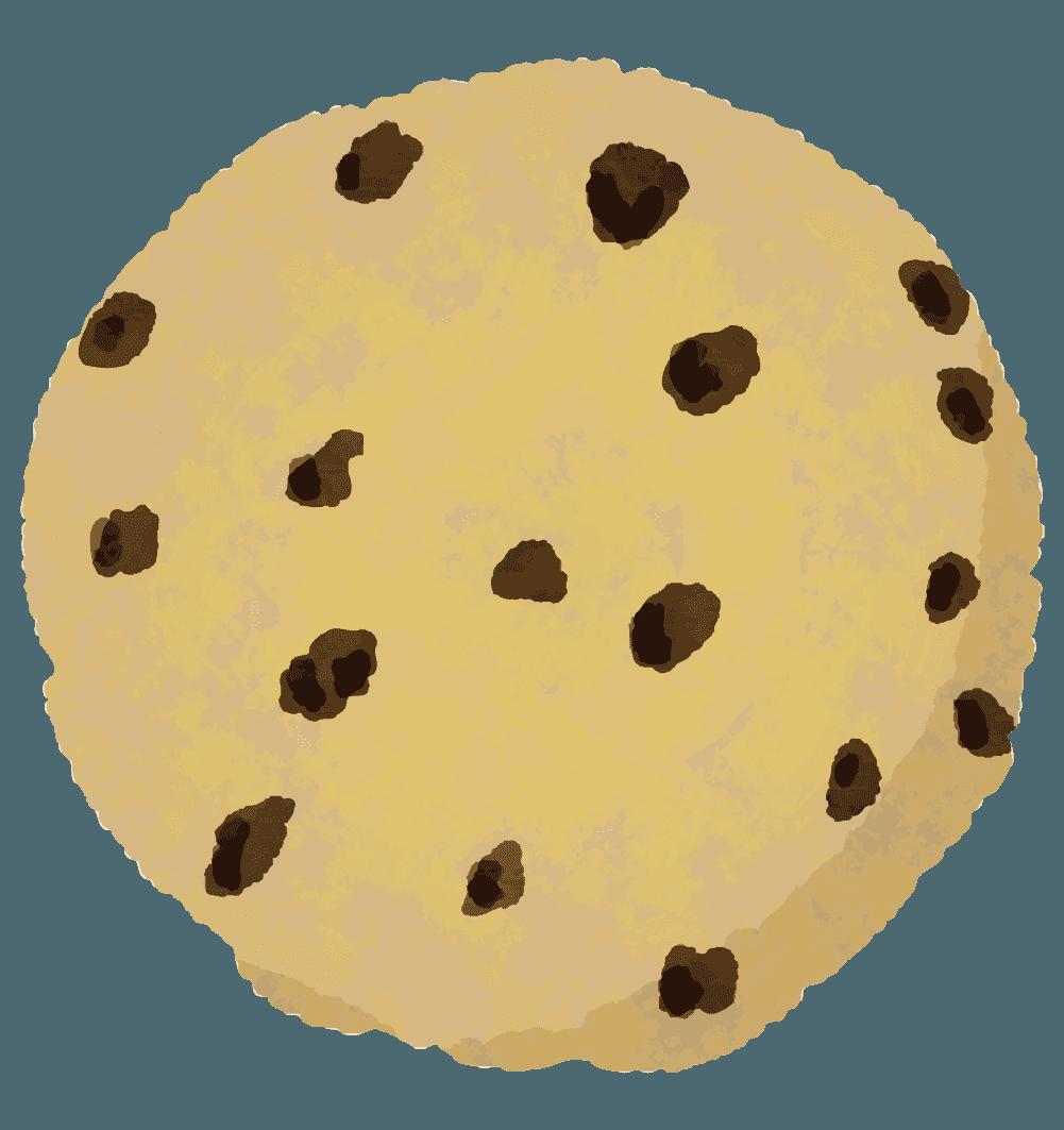 チョコチップクッキーのイラスト