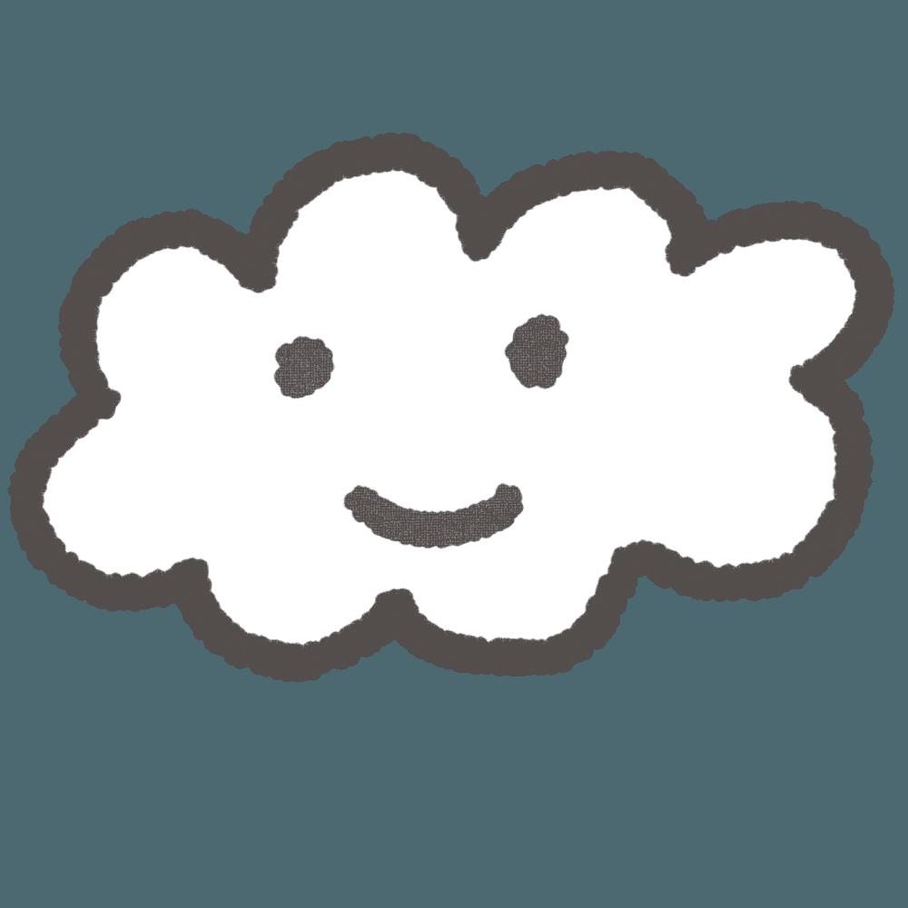 可愛い雲イラスト