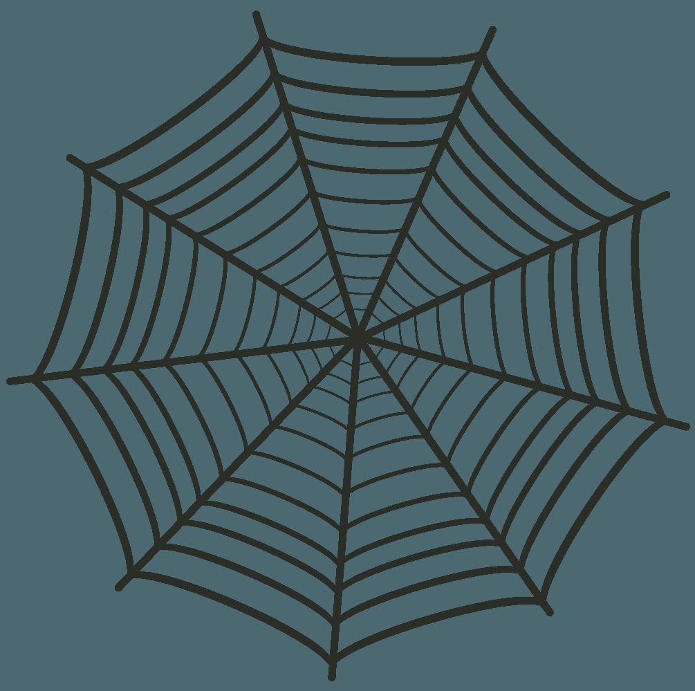 蜘蛛の巣イラスト