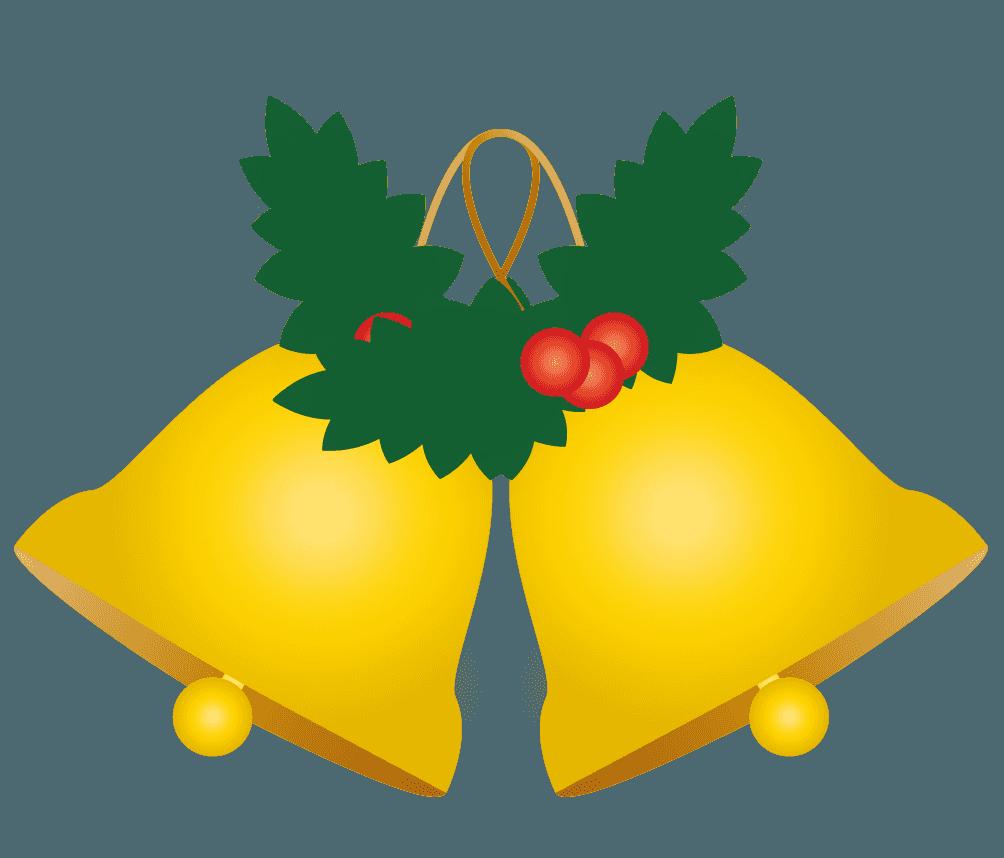 クリスマスツリーのジングルベル飾りイラスト