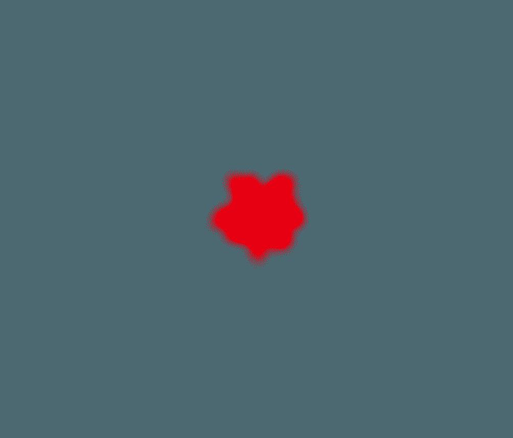 ツリーの赤い電飾のイメージイラスト
