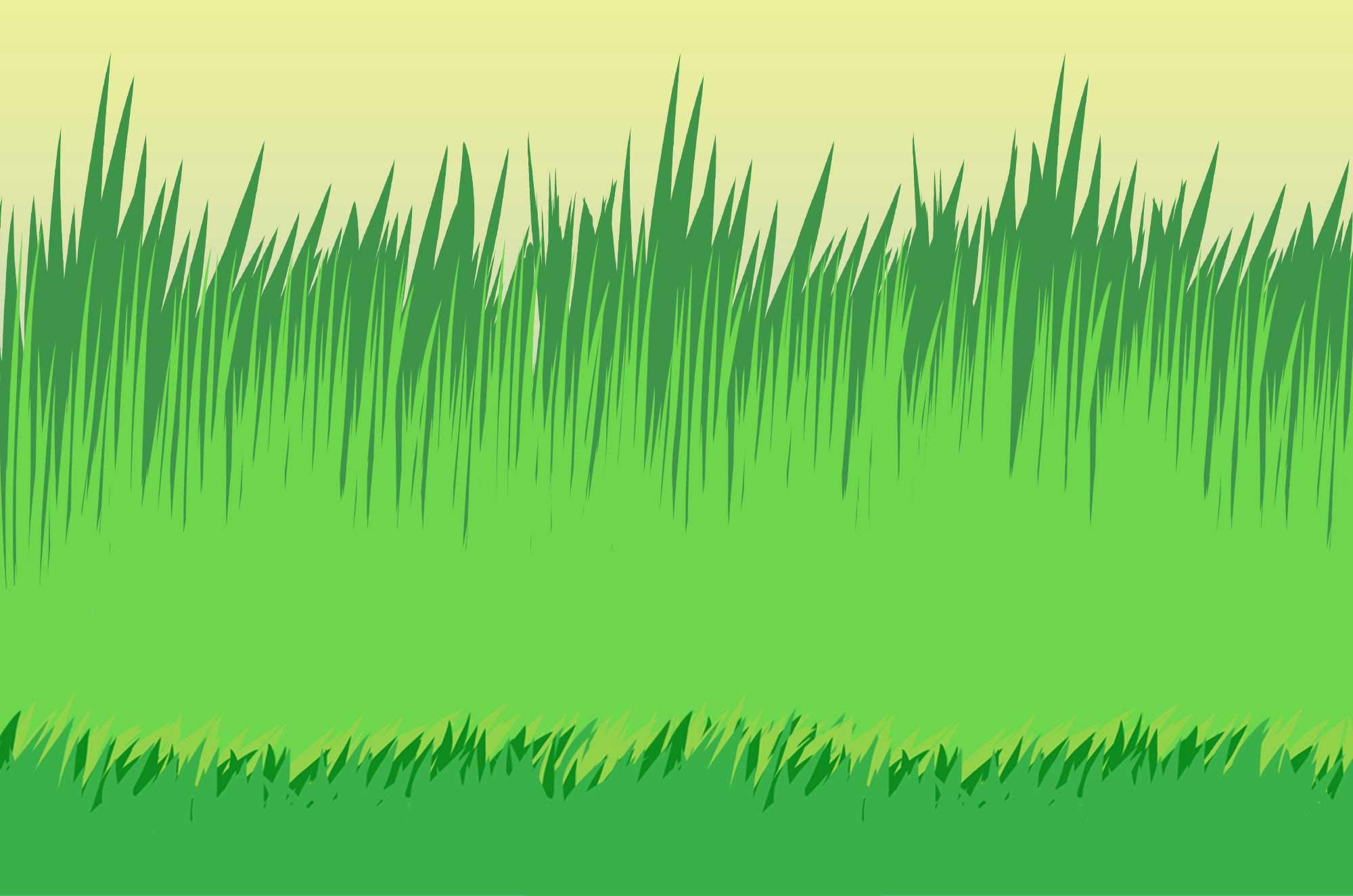草イラスト - 雑草・背景に使える自然のフリー素材