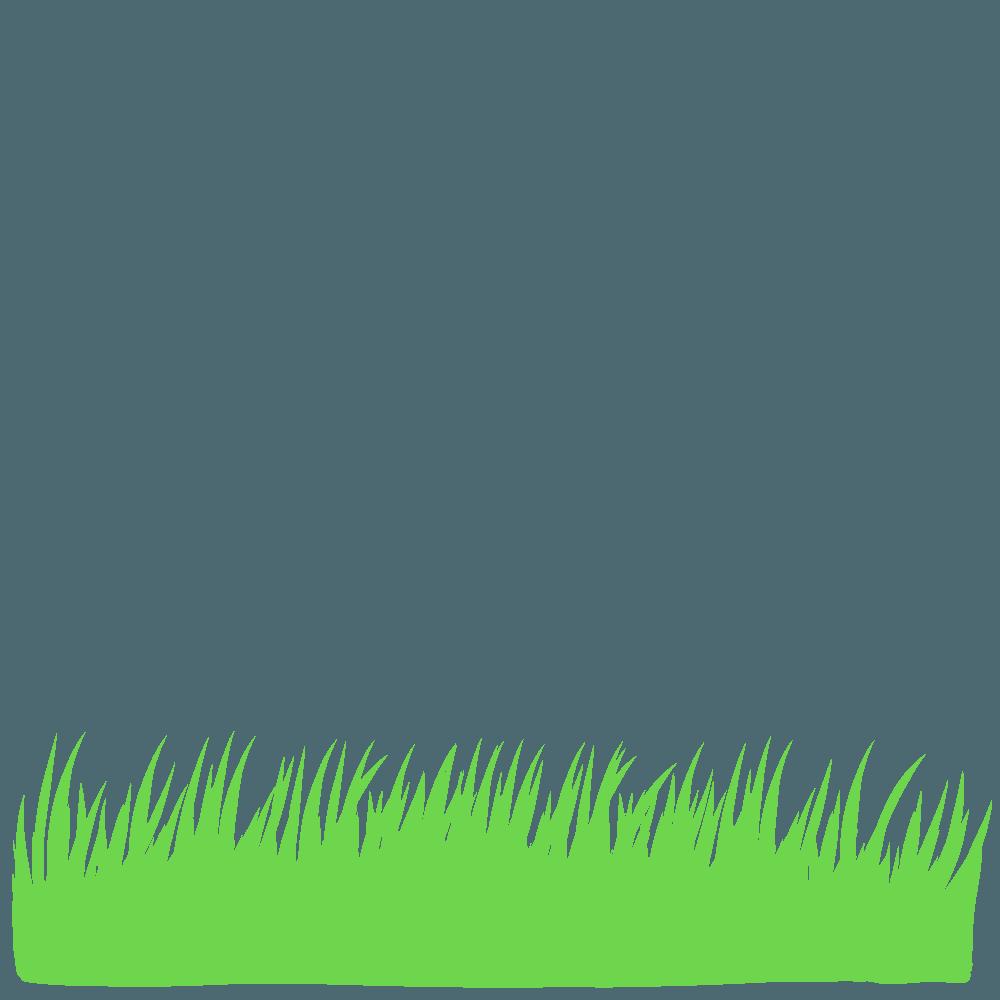シンプルな草イラスト