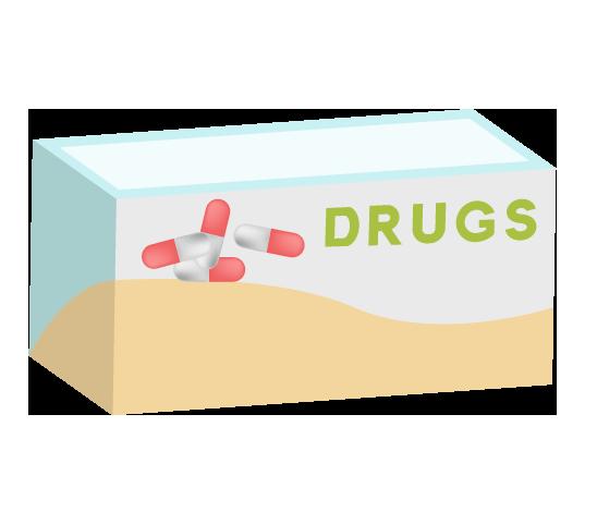 箱に入った薬