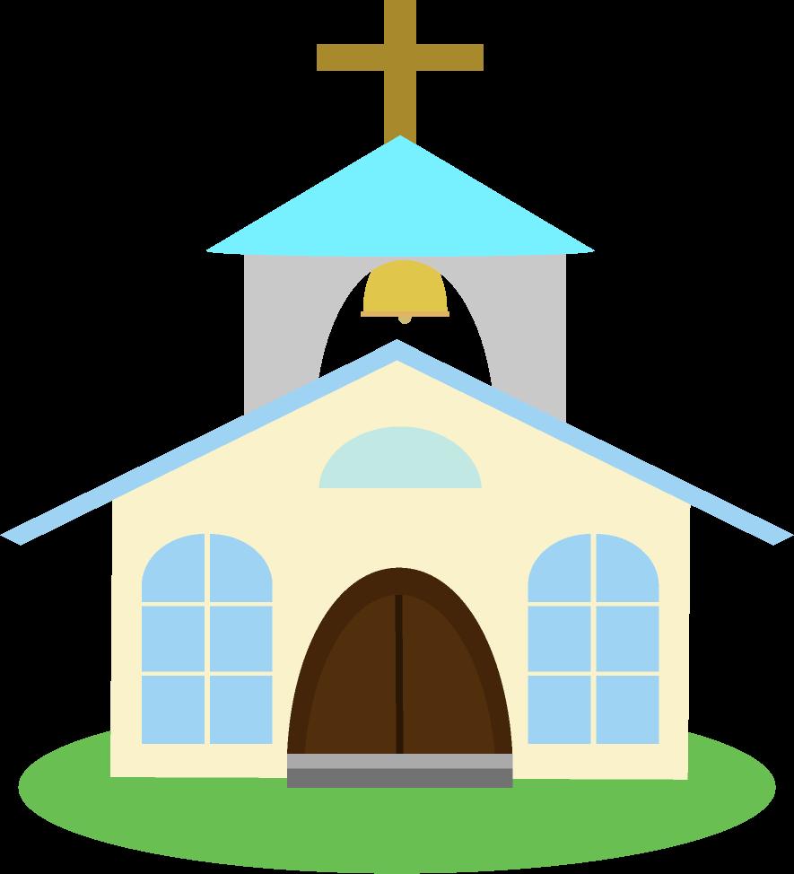 可愛い教会のイラスト
