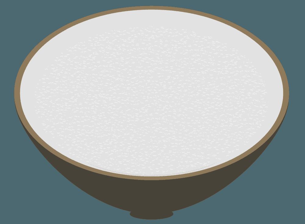 白飯のイラスト