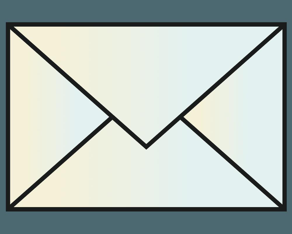 可愛いメールマークのイラスト