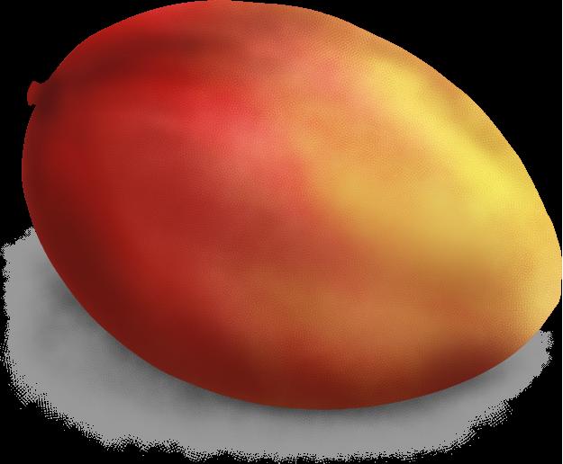 美味しそうなマンゴーのイラスト