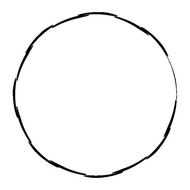 丸型エンブレムのイラスト6