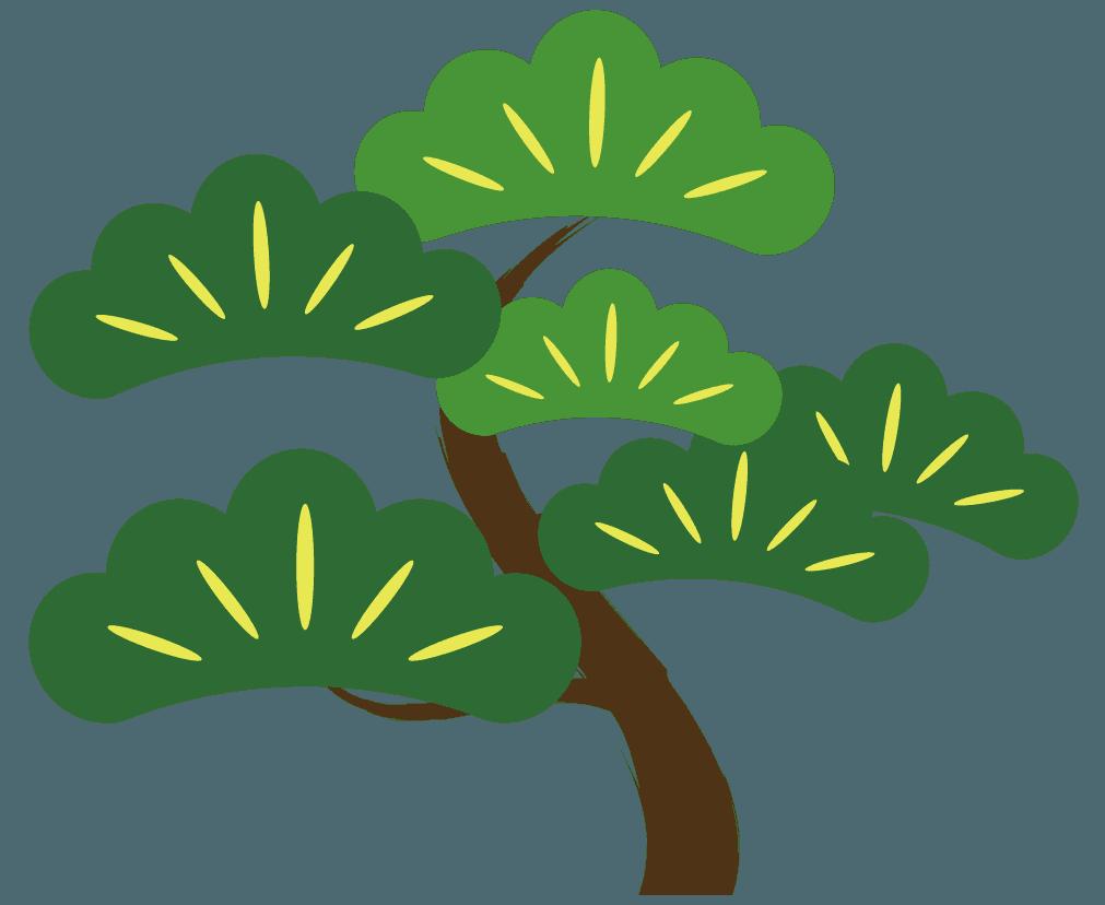 松の木のイメージイラスト