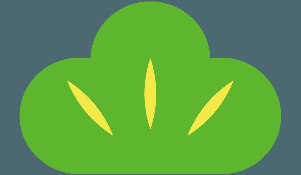 ベクター的な松の葉のイラスト