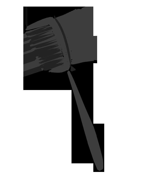 眉毛用ブラシのイラスト