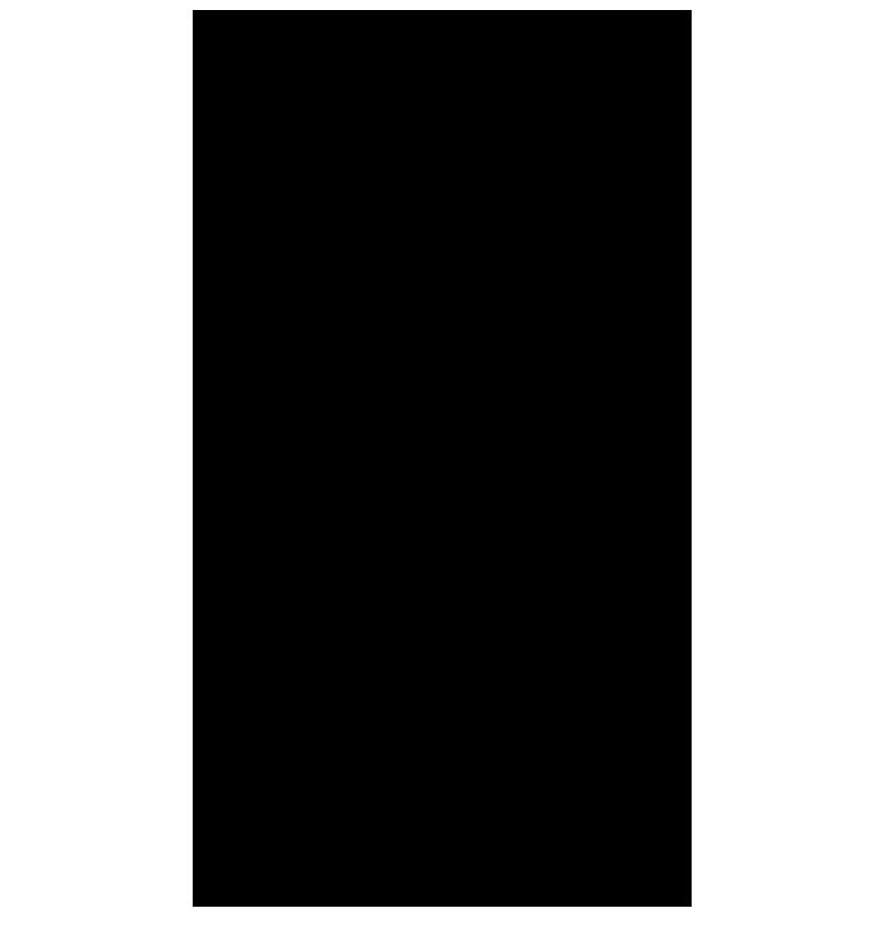 黒い綿棒のイラスト