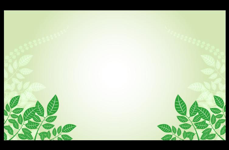 春の緑の葉っぱ背景のイラスト