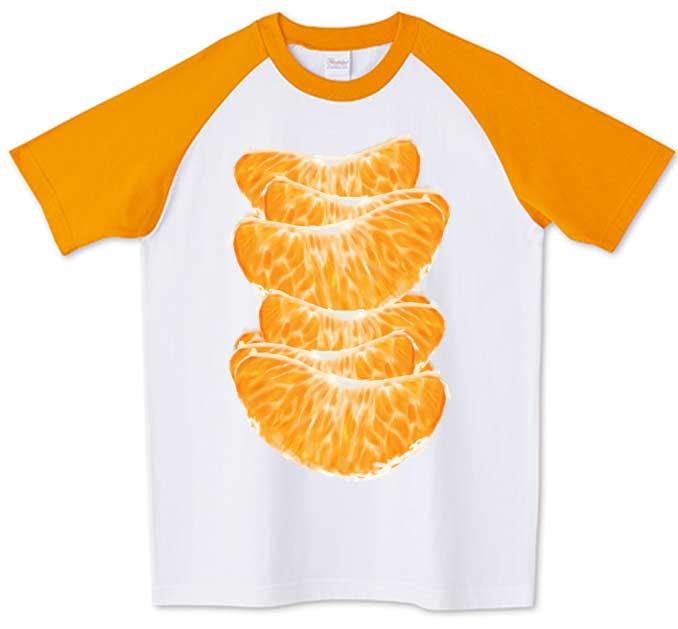 みかんいっぱいTシャツ