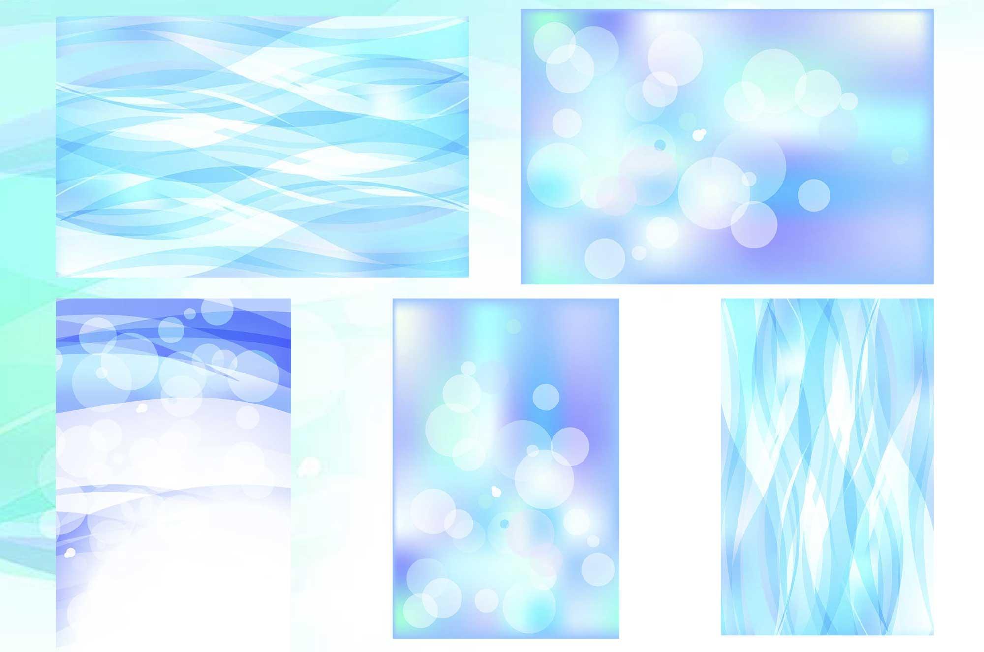水 背景フリー素材 - ゆらぎの綺麗なイラスト素材