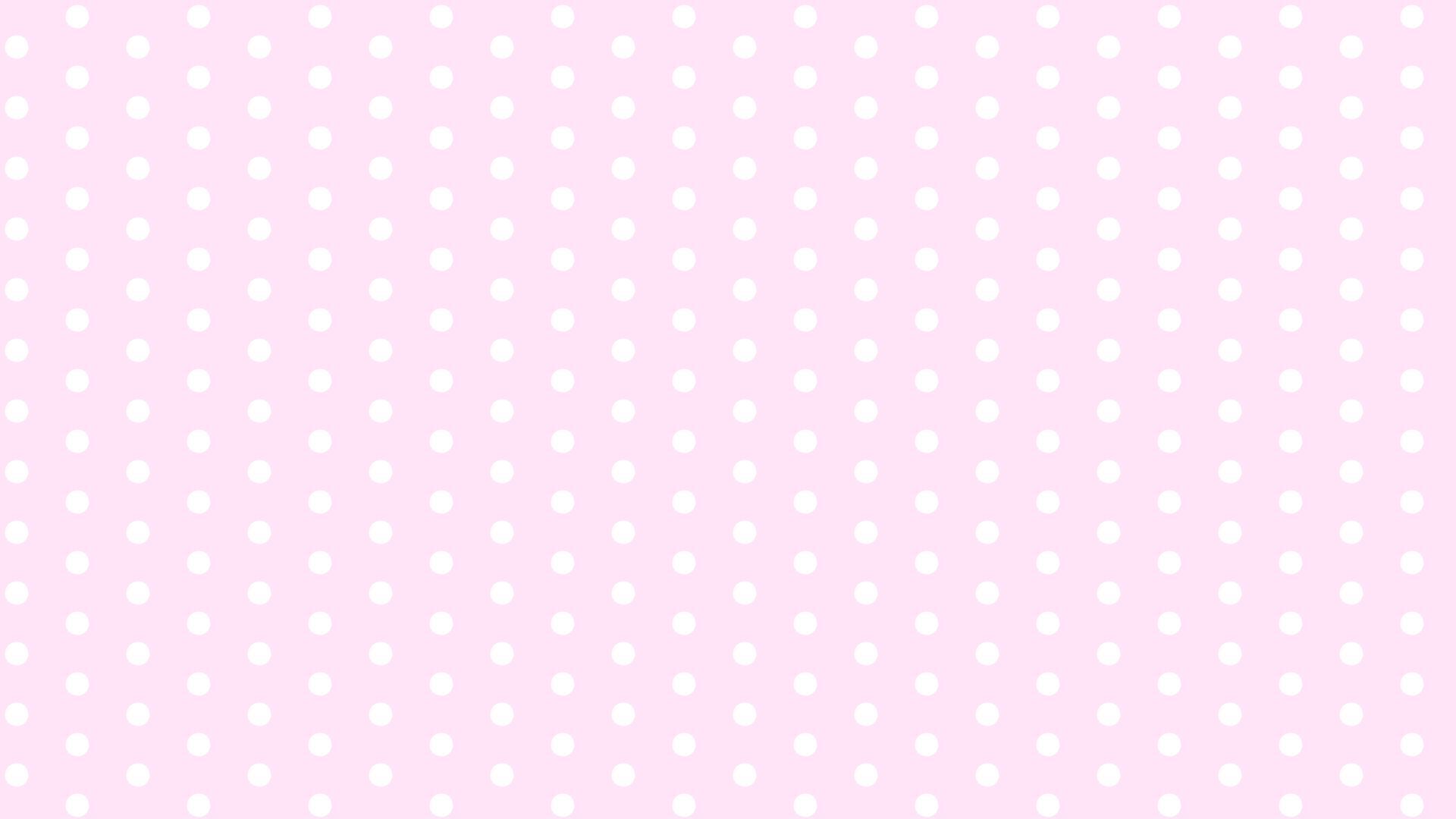 ピンク水玉(大)背景イラスト