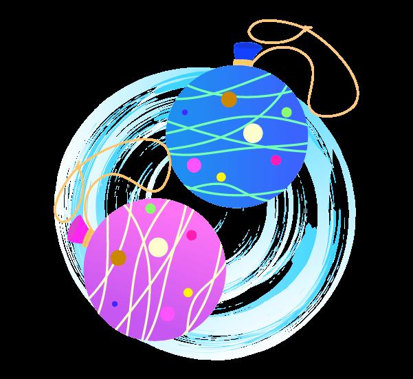 水ヨーヨーの挿絵イラスト