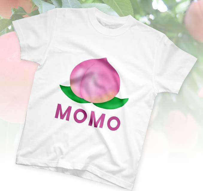 究極の桃Tシャツ