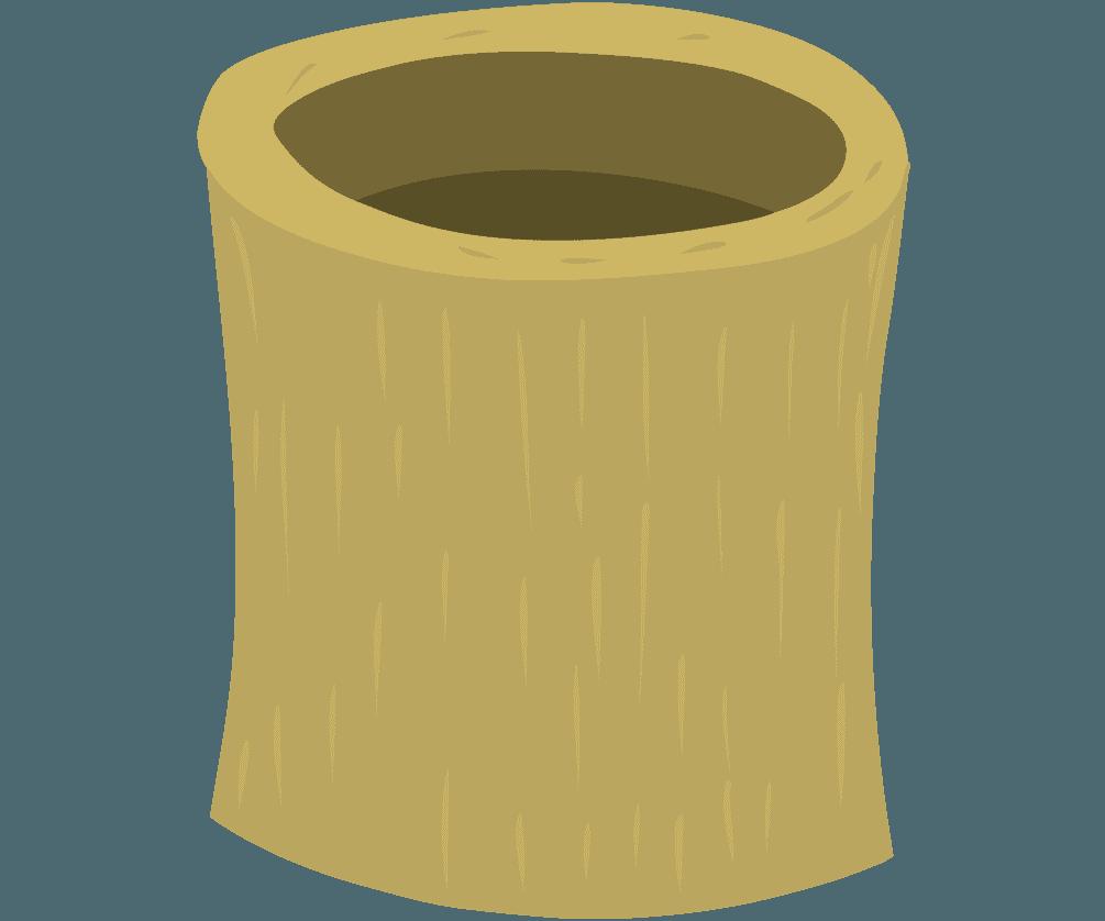 木のうすのイラスト