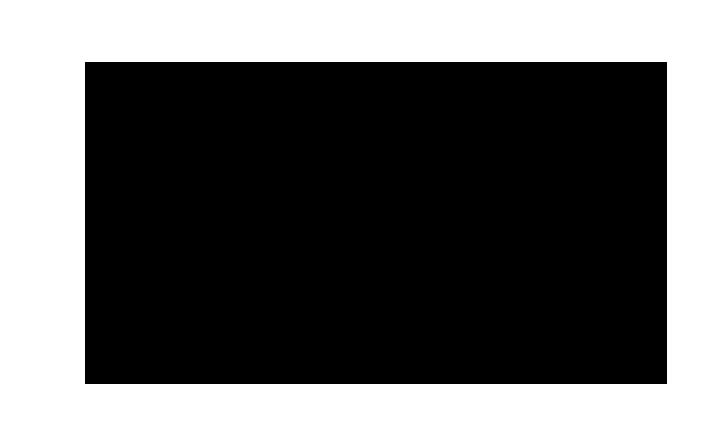 流れ星のシルエット