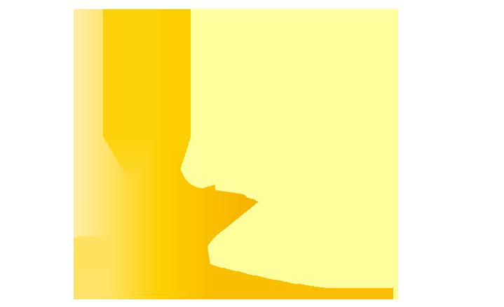 下降する流れ星