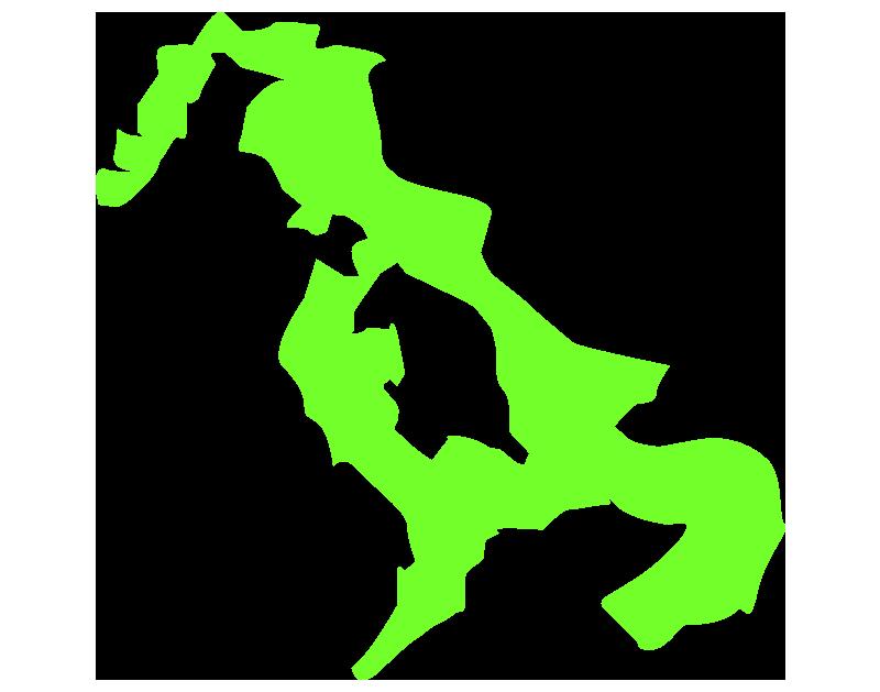 長崎の地図のイラスト