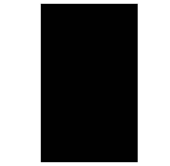 奈良のシルエットイラスト