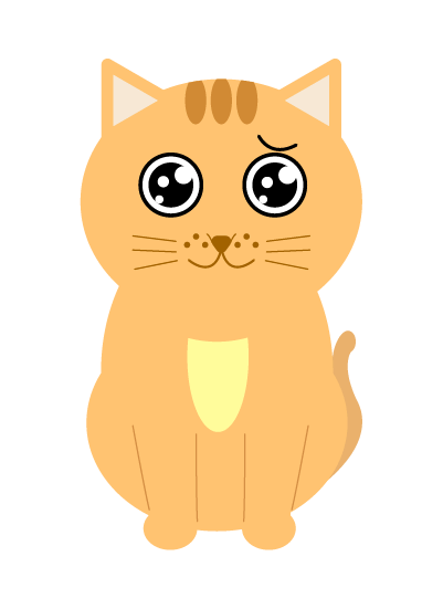 ピエンの猫のイラスト