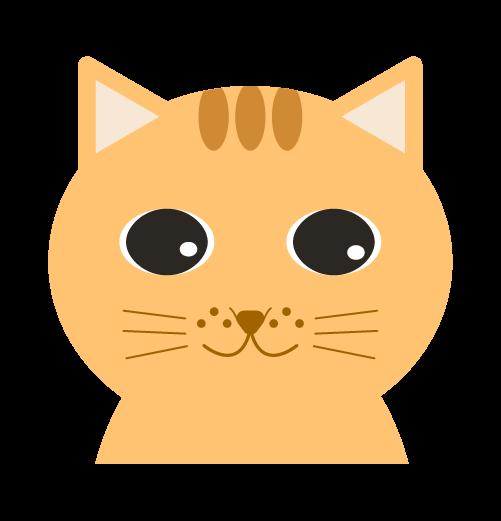 可愛い猫のイラスト