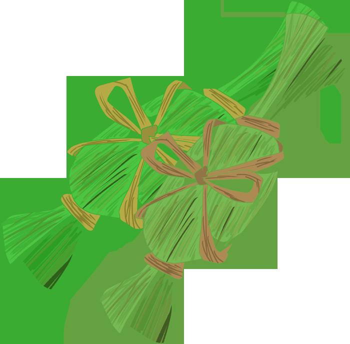 笹団子のイラスト