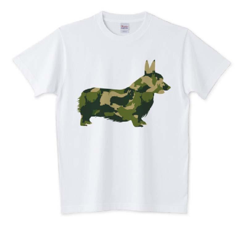 アーミーコーギーTシャツ