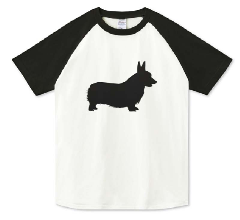 シンプルコーギーTシャツ
