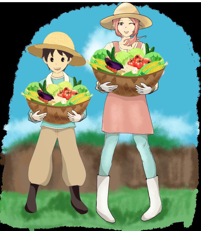 農業のイメージ挿絵イラスト