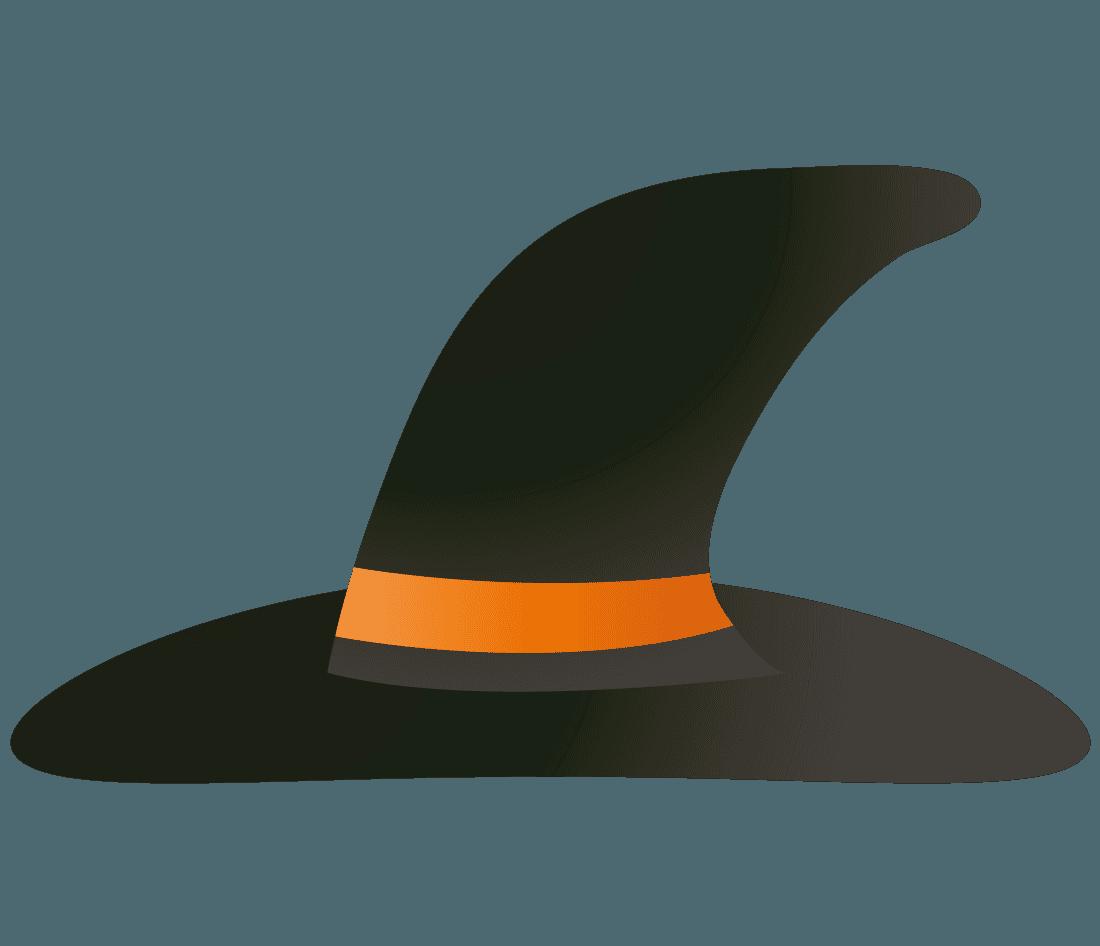 魔女の帽子イラスト