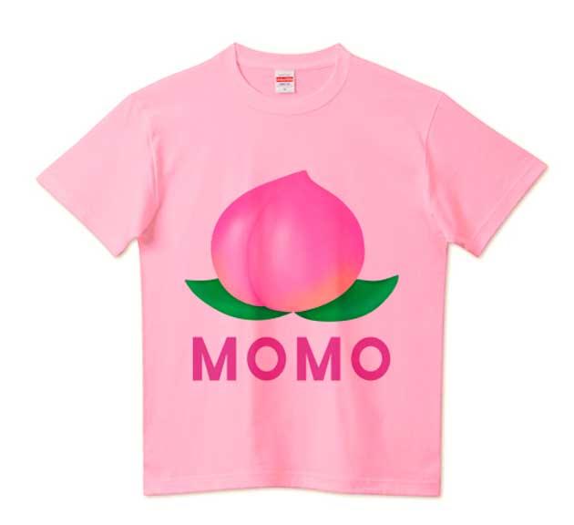 ザ・桃Tシャツ!