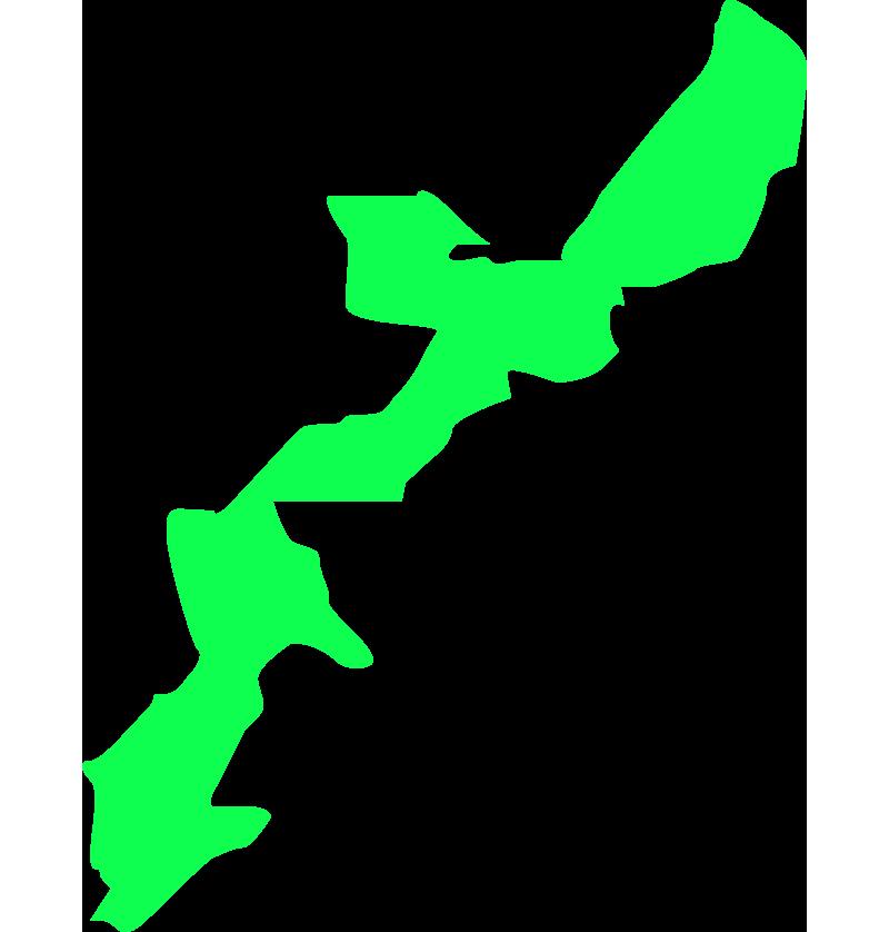 沖縄の大陸・地図のイラスト
