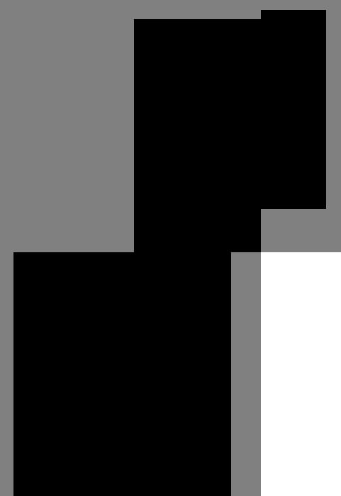 オクラの線画イラスト