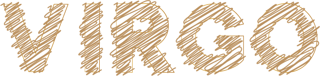 virgoのアートな文字
