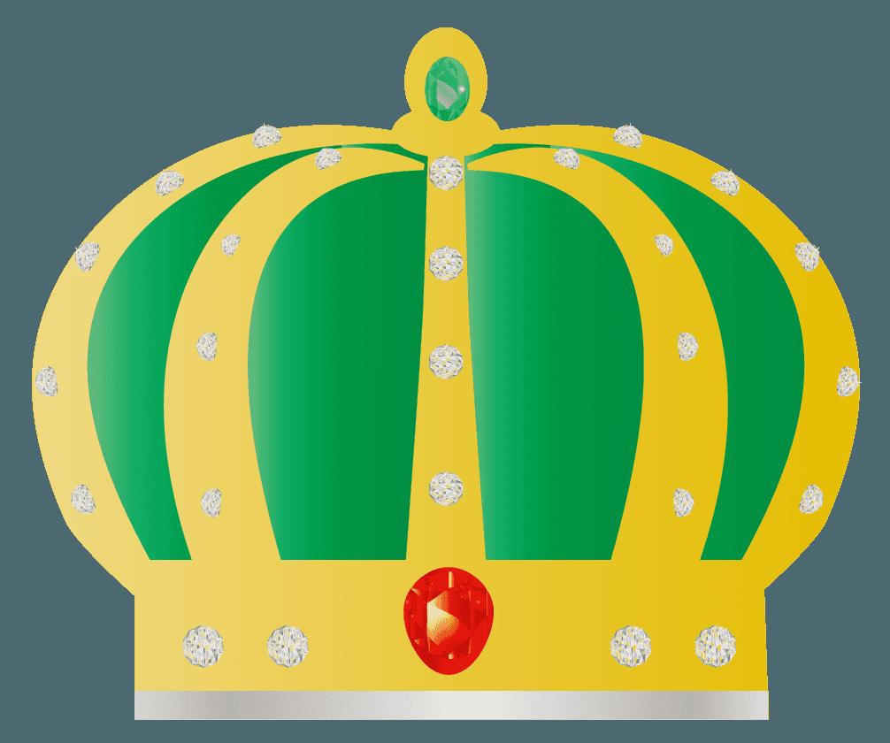 ゴージャスな王冠のイラスト