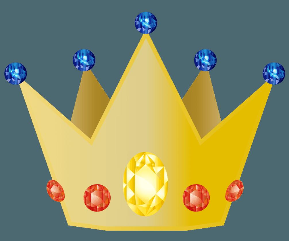 リッチな王冠のイラスト