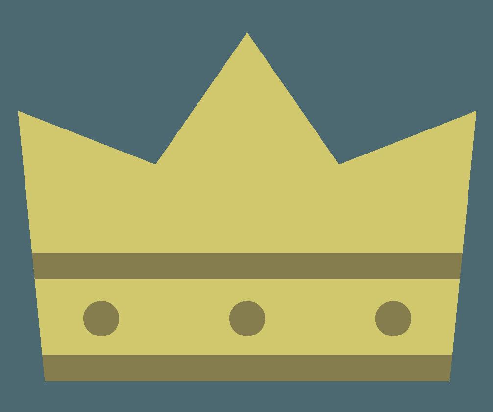 定番の王冠マークのイラスト