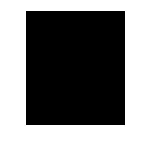 オウムのシルエットイラスト2