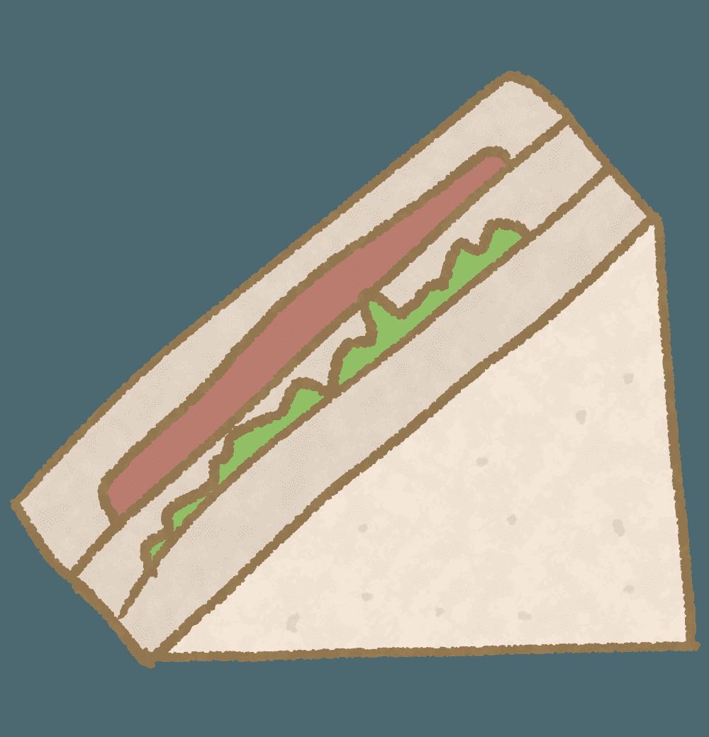 サンドイッチイラスト
