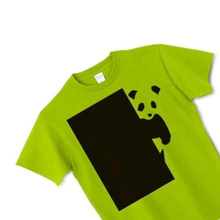 グリーンパンダTシャツ