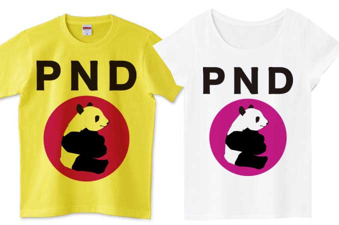 PNDパンダTシャツ
