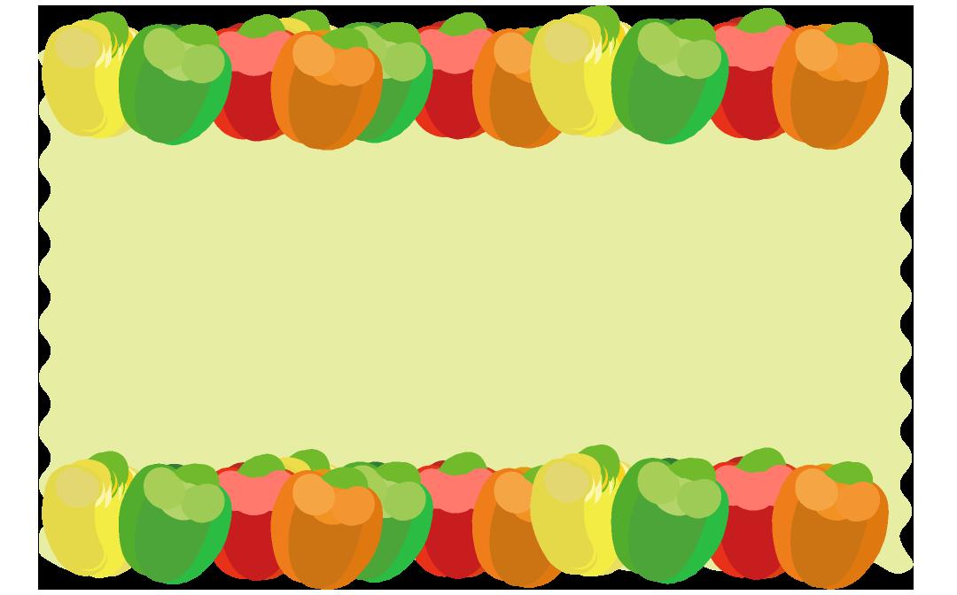 パプリカフレーム(背景あり1080×672)